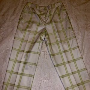Vintage Talbots Petites Wide Leg Cropped Pants